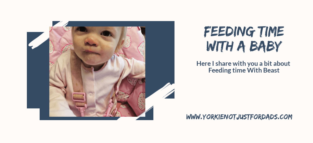 Featured image for the post feeding time with a baby