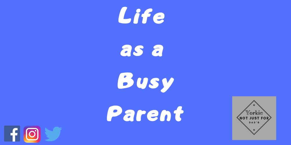 Featured image for the post life as a busy parent