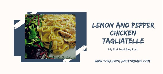 Featured image for the post lemon pepper chicken tagliatelle