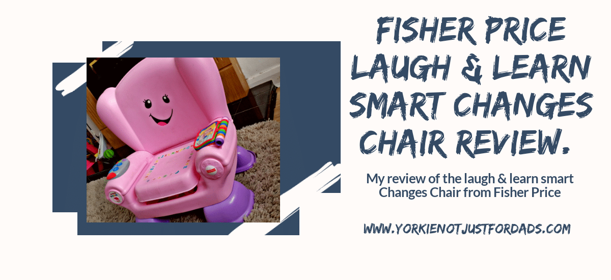 Featured image for the post fisher price laugh & learn smart changes chair review