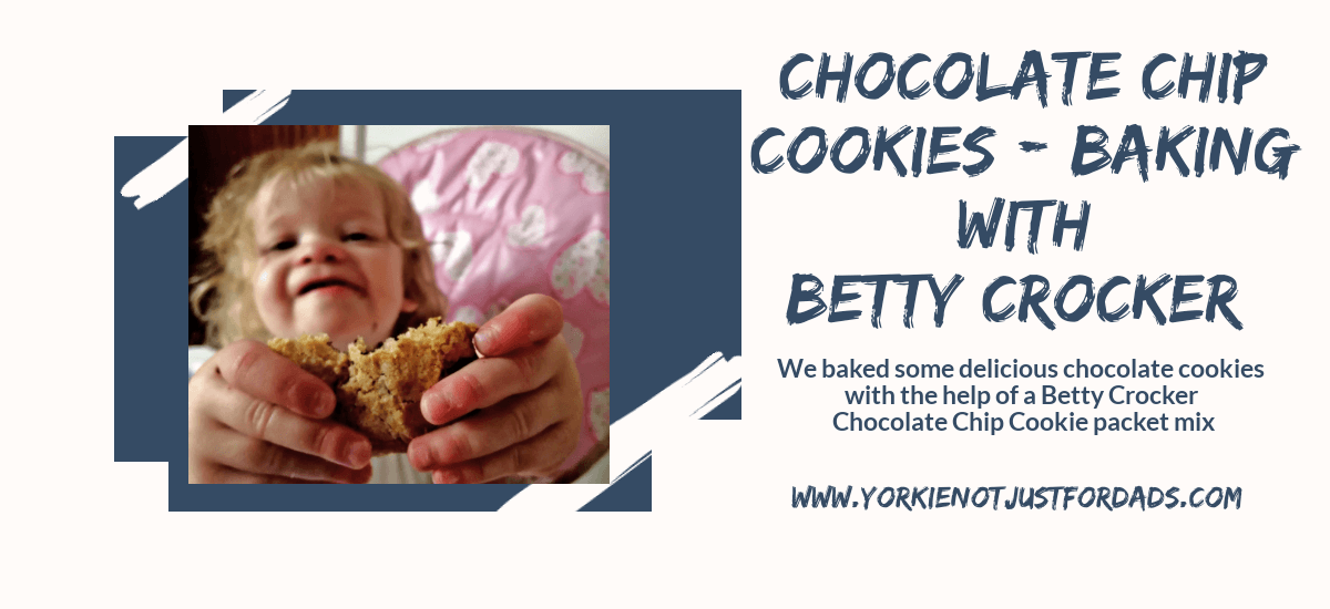 Featured image for the post chocolate chip cookies. Baking with Betty crocker