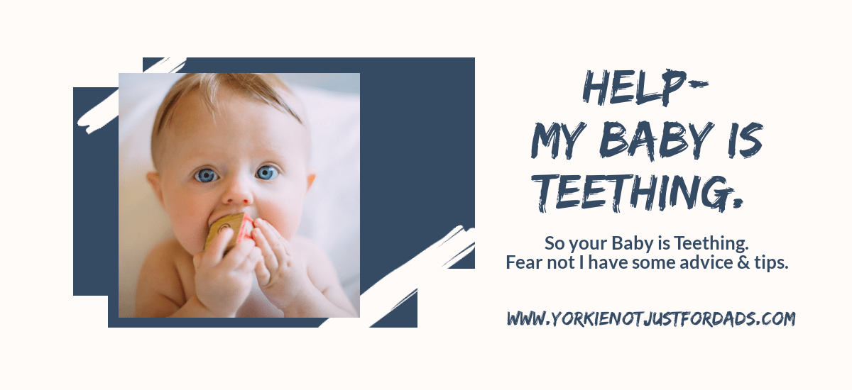 Featured image for the post help my baby is teething