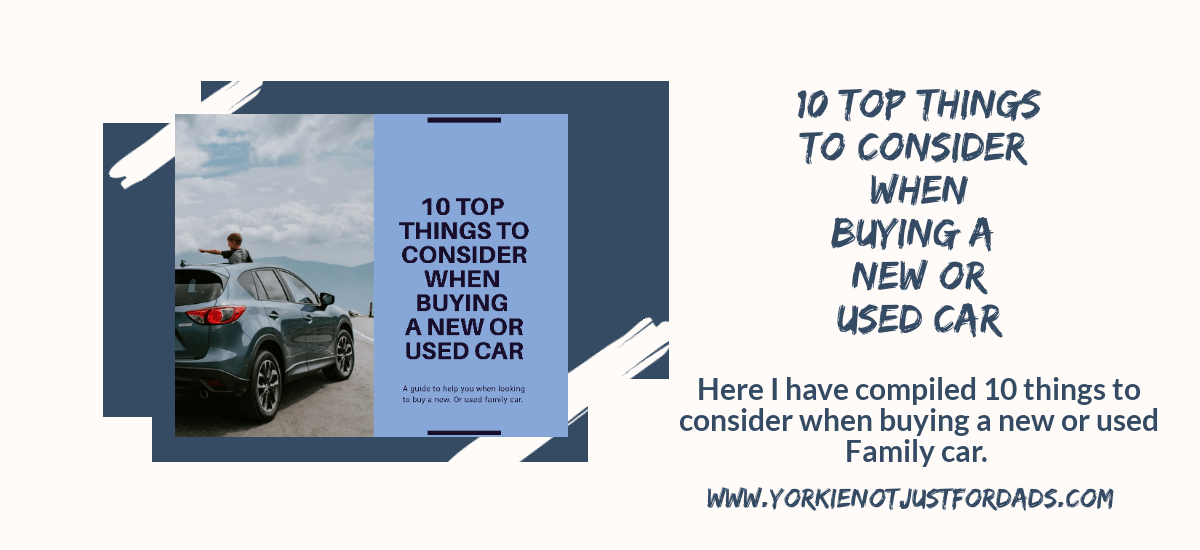 Featured image for the post 10 top things to consider when buying a new or used car