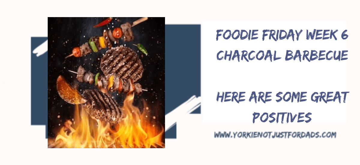Featured image for the post Foodie Friday Week 6. Charcoal barbecue. Here are some great positives